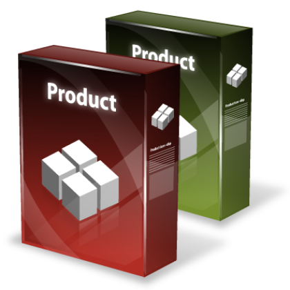 Product with quantity grid